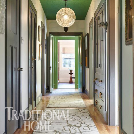 Traditional Home Napa Valley Showhouse, Emily Mughannam, Fletcher Rhodes, Wine Country Interiors, Hallway & Guest Sitting Room