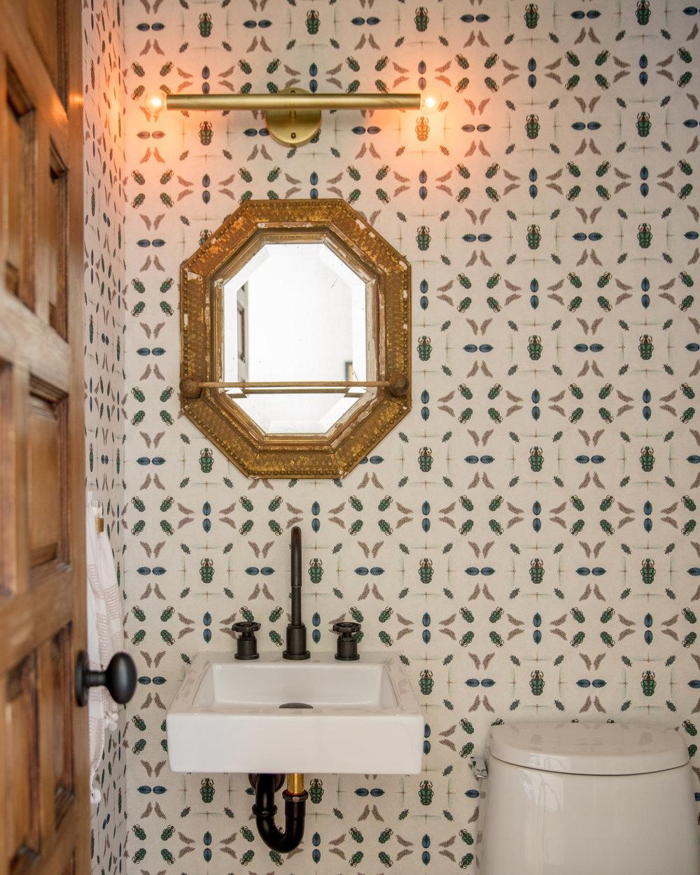 FletcherRhodes powderroom bug wallpaper.jpg