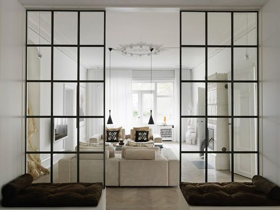 We're so excited for our sliding barn doors from  The Sliding Door Co.