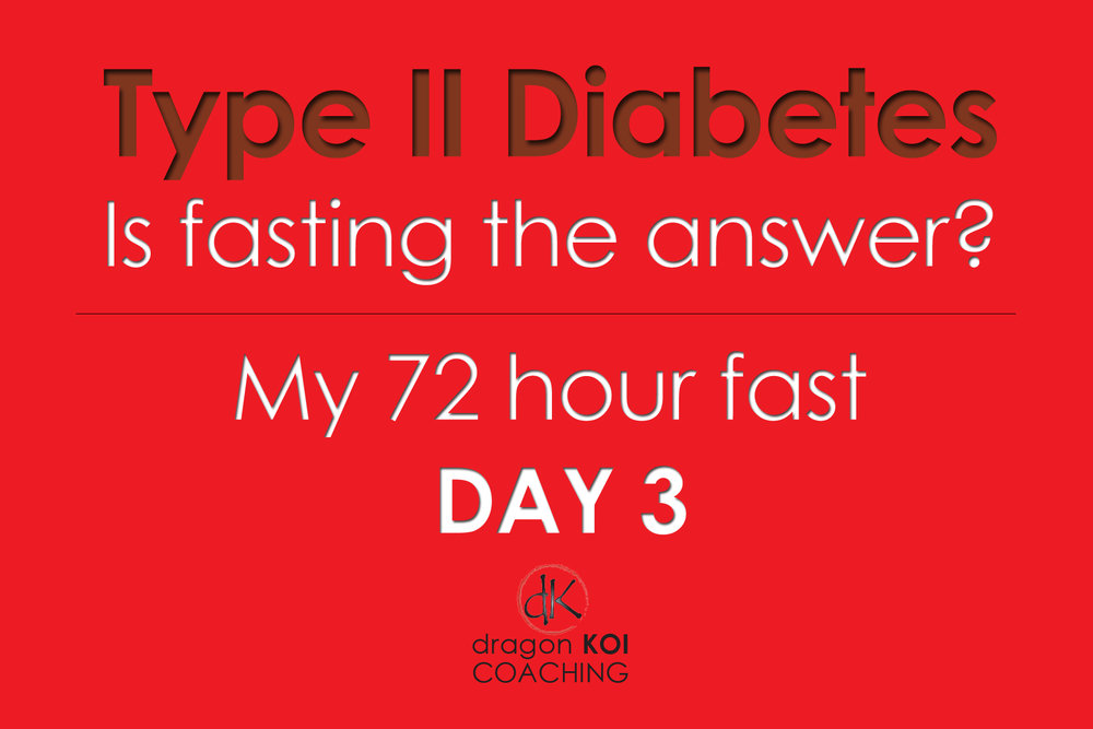 Type II Diabetes: Is fasting the Answer?: My 72 Hour fast