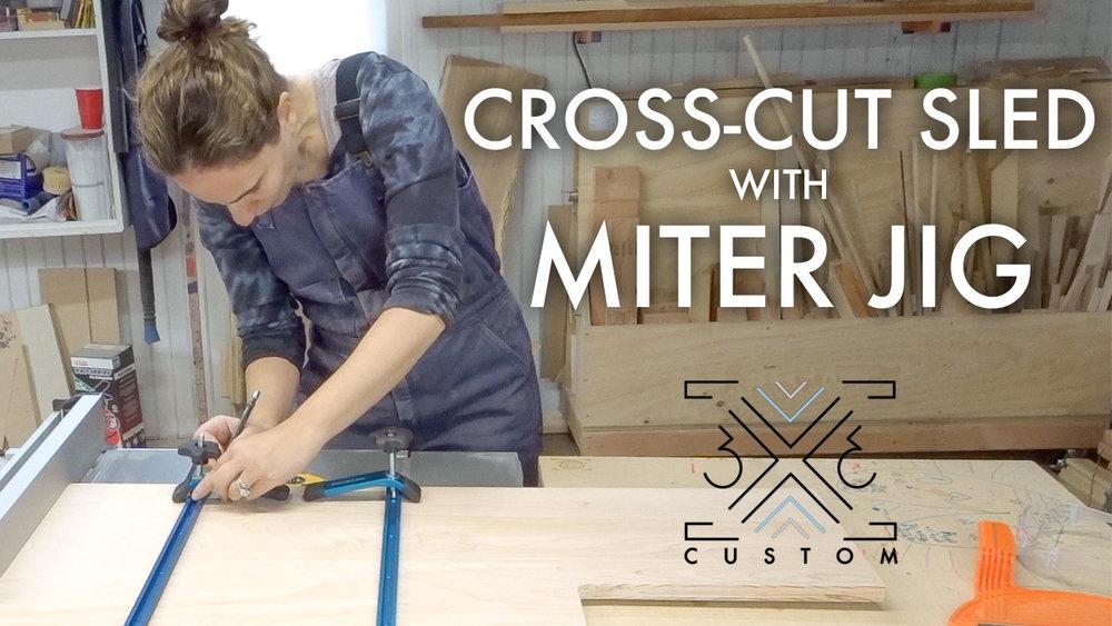 3x3 Custom Cross-Cut Sled