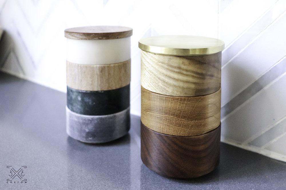 3x3 Custom DIY Stackable Salt Cellar