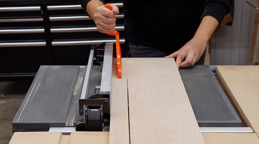 3x3 Custom Easy DIY Router Edge Guide