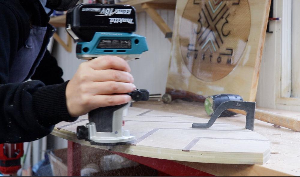 3x3 Custom DIY Balance Board
