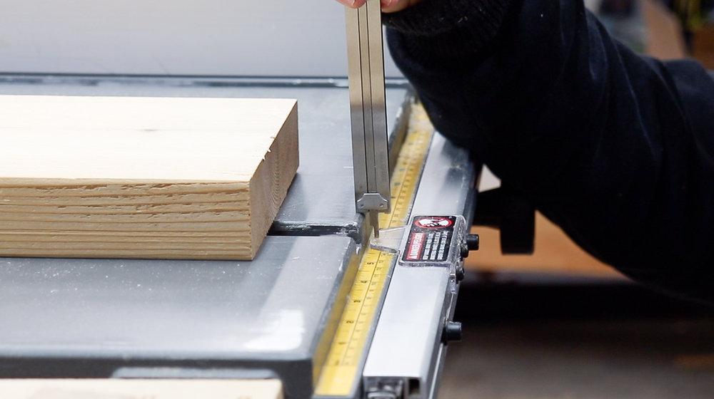 3x3 Custom Thin Ripping Jig