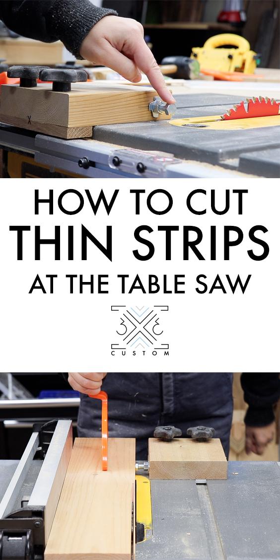 3x3 Custom Thin Rip Jig