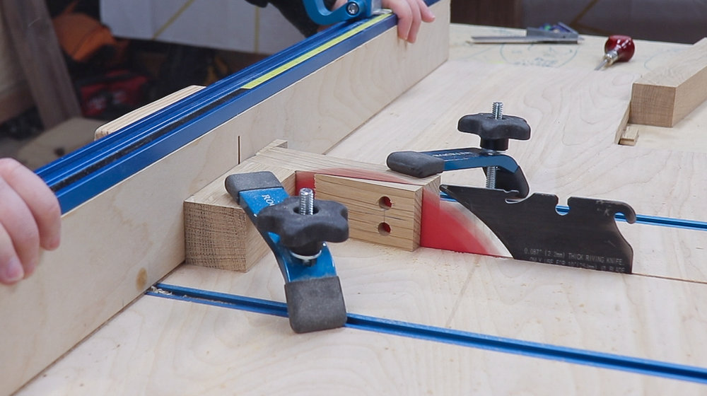 3x3 Custom Angled Dowel Joinery