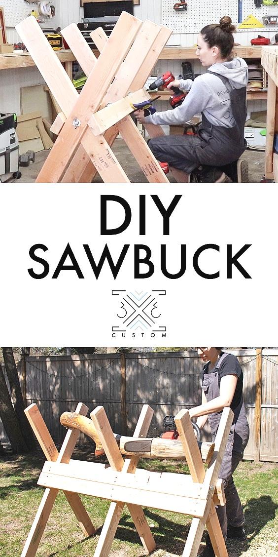 DIY+Sawbuck