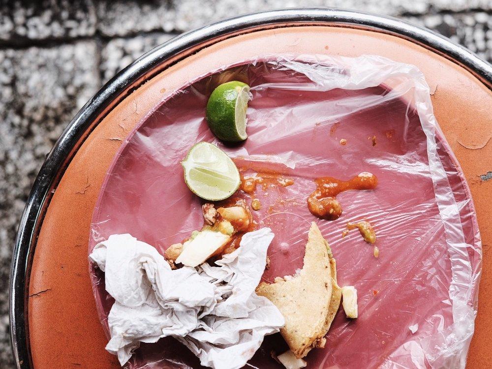 Tacos al pastor. Mexico City, Mexico.