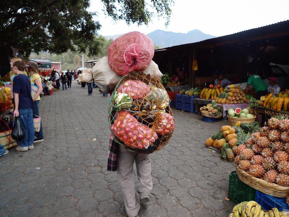 Farmers Market. Antigua, Guatemala.
