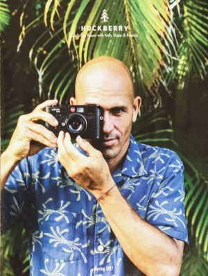 Kelly Slater. Huckberry Spring Cover. Kauai, Hawaii