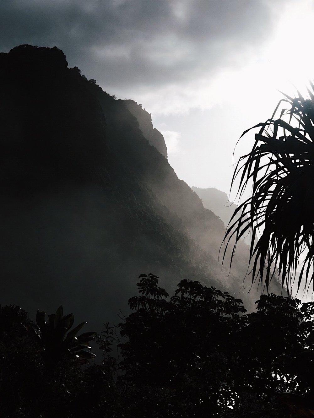 Hanakapiai Trail. Kauai, Hawaii