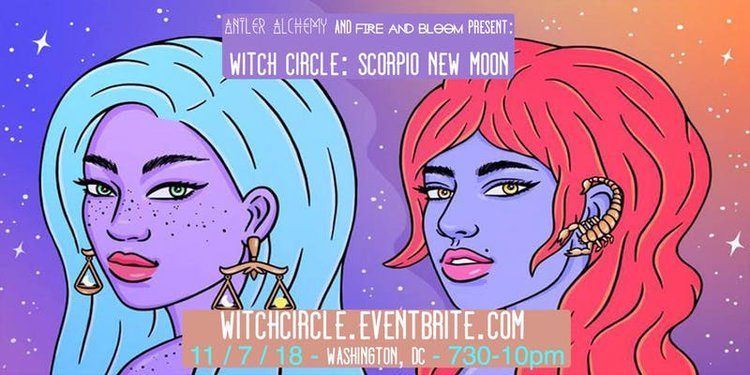 WITCH Circle: Scorpio New Moon — Feminist Founder