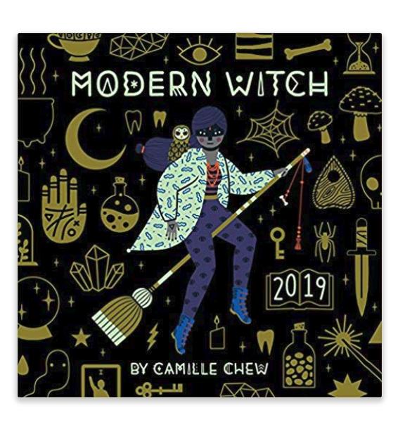 $10.39 | Modern Witch 2019 Calendar