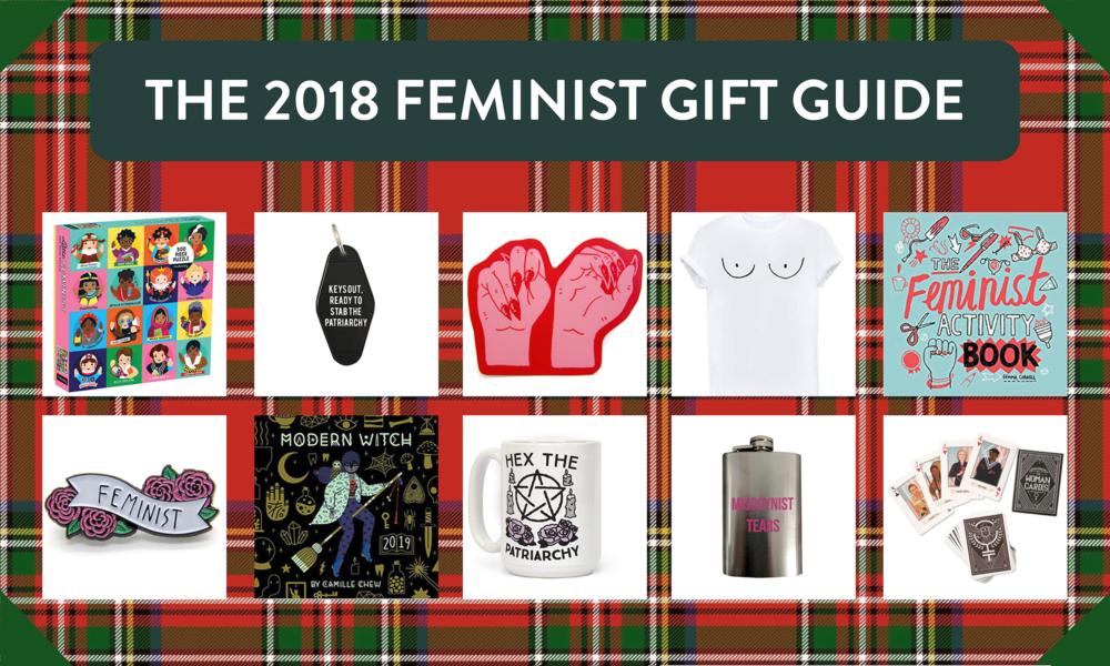 feminist holiday gift ideas, feminist christmas gifts