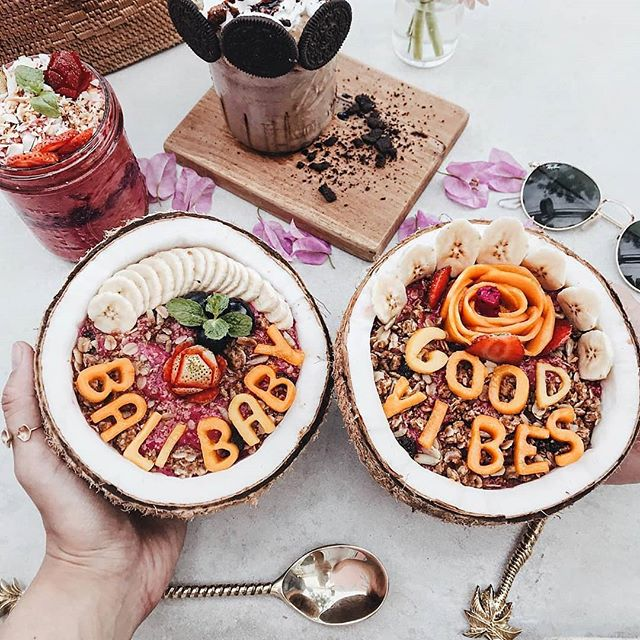 Bali is bursting with incredible plant-based cafes and @kyndcommunity definitely deserves a shout-out as one of our favourites for many reasons.. The energy is always happy and relaxed and the touch points memorable.  Think positive messages of kindness written on walls and take-away postcards and acai bowls that are as photogenic as they are delicious. Add on their meaningful community gatherings based on wellness. We always seem to leave a little brighter than when we stepped in.