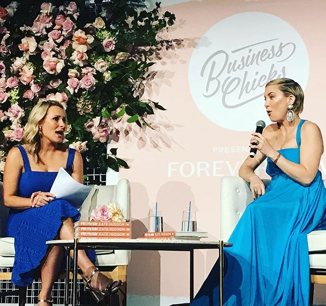 Thanks @businesschicks @emmaisaacs @oliviaruello @lucyormonde for the invite to your special lunch event with @katehudson. Congrats to @emmaisaacs on such an inspiring interview and the whole team for another kick arse event! #VIP #businesschicks #amazingcommunity #webelieveinwomen
