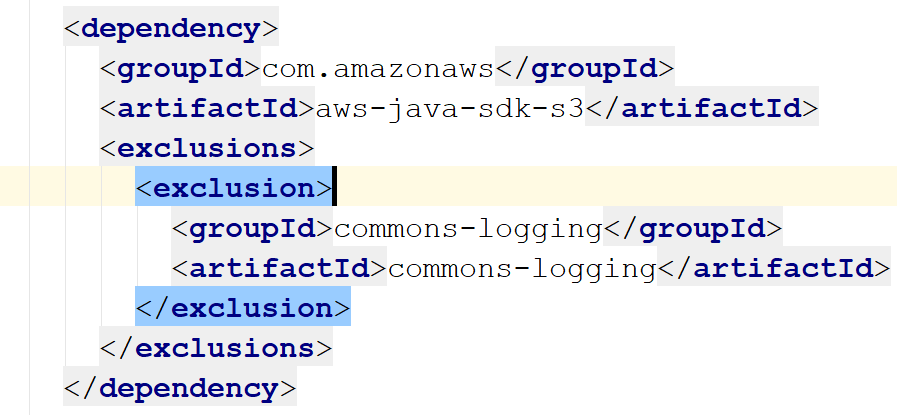 JCL Excluded - Excluding commons-logging with Maven