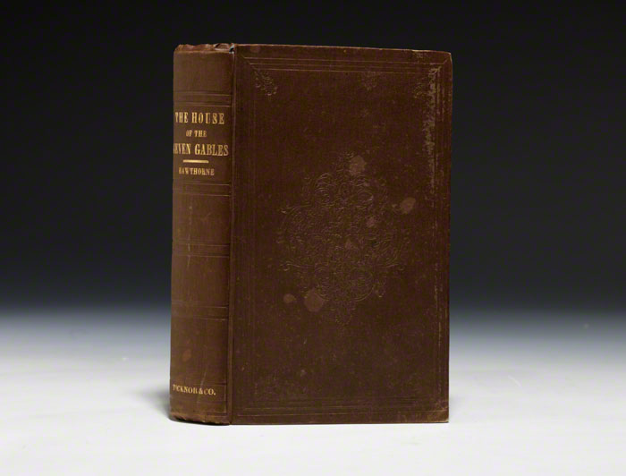 Photo - First Edition, First Printing, Second Issue. One of the 1690 copies printed in April, 1851. 18 cm