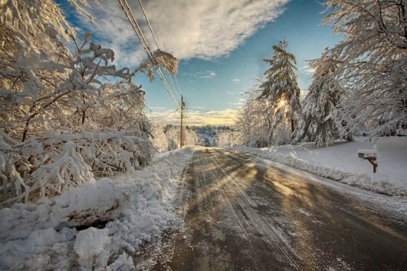 """Heavy Snow HDR 3"" via  Greg"