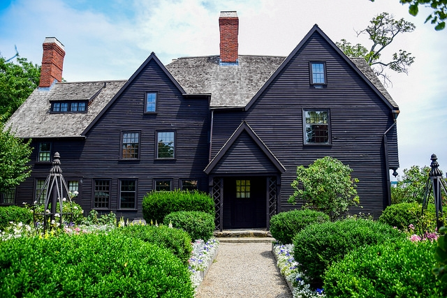 The House of Seven Gables, Salem, MA via  Vicki Resch