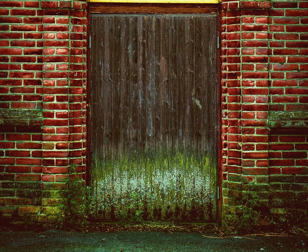 Moldy Doorway via  Peter Damsten . Derivative.