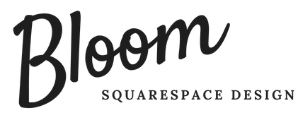 Bloom Squarespace  Design