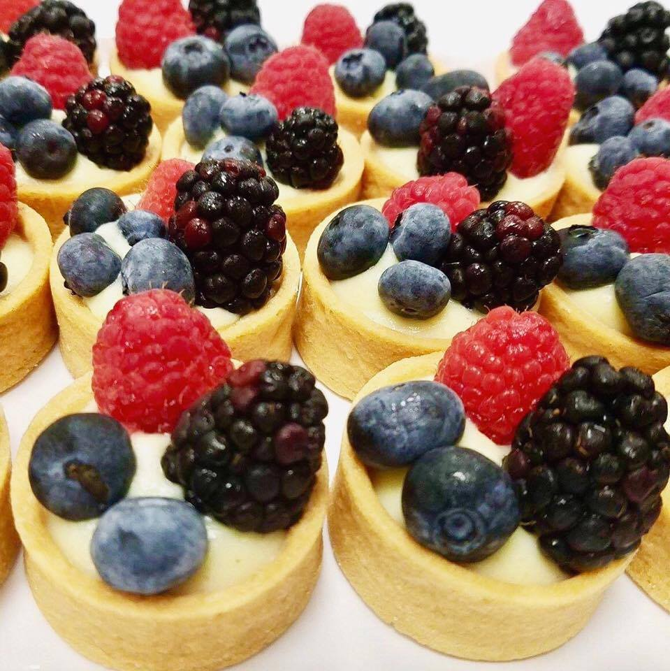 Mini Berry Trio Tarts
