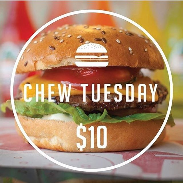 It's CHEWSDAY again! You know what that means... We'll be open from 5pm today • • • • • #chewburger #burgers #melbourneeats #preston #melbourneburgers #burgerporn #burger #melbournefoodie #foodiesmelbourne #chewsday