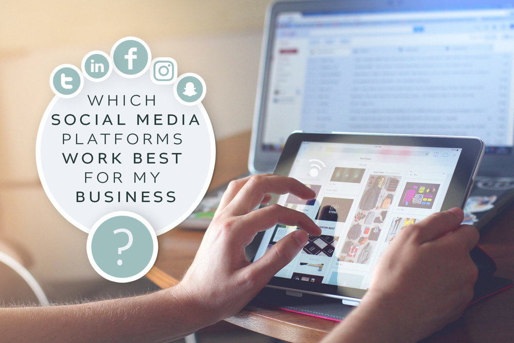 Which Social Media Platforms work for your business?