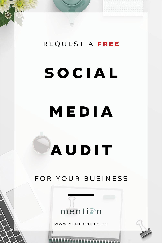 Request a Free Social Media Audit