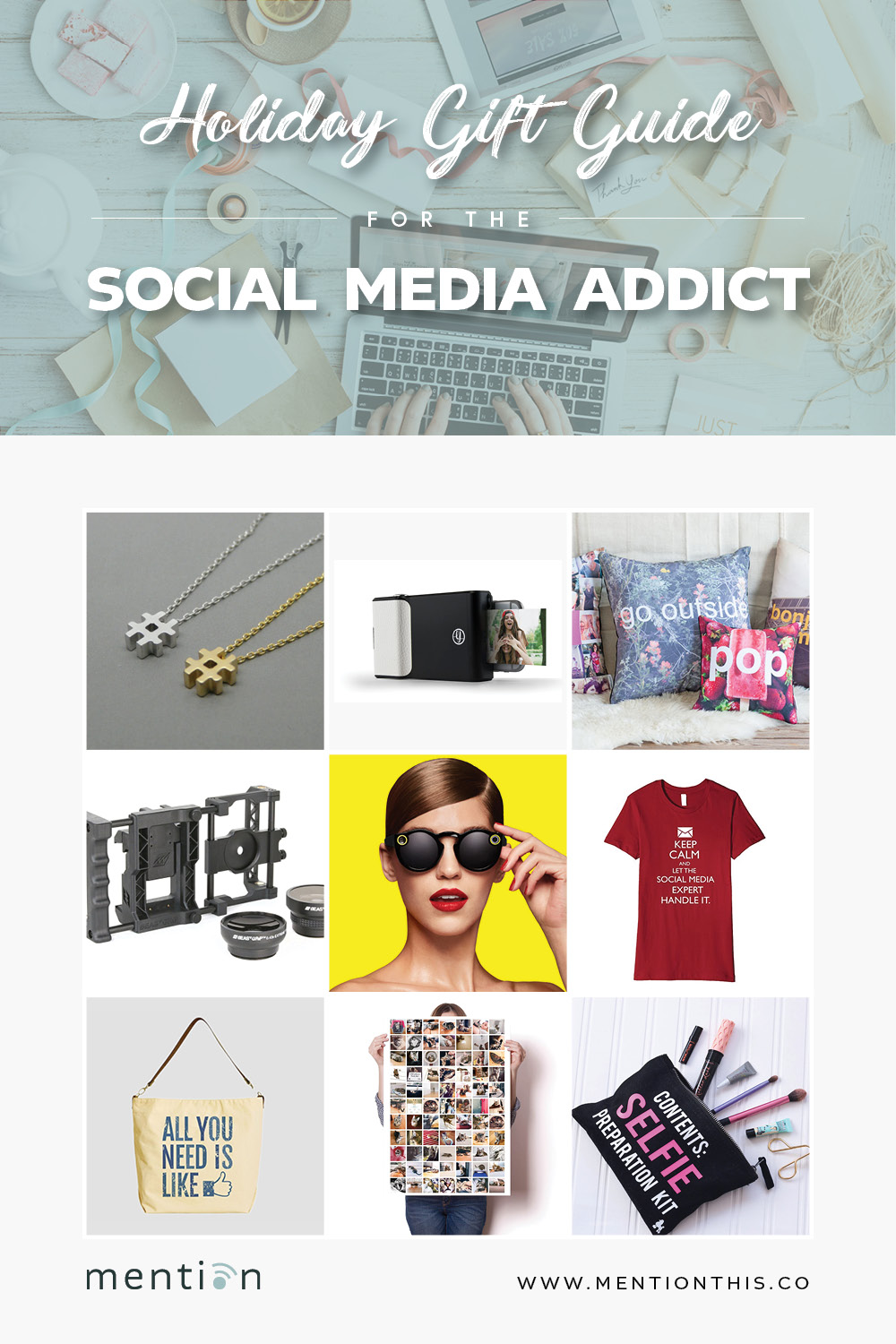 Holiday Gift Guide for the Social Media Addict