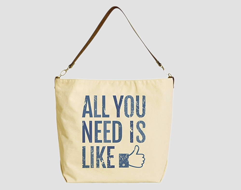 Social media gift ideas - tote bag
