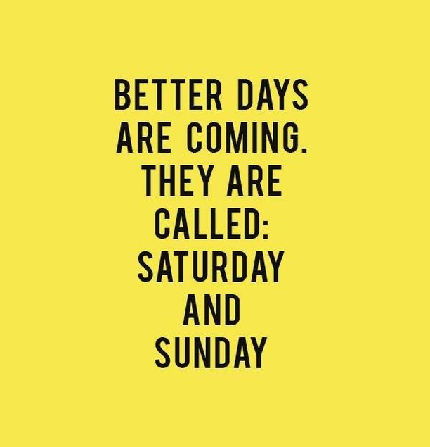 Happy #FRIYAY to all those working for the weekend! . . . #betterdays #tgif #fridayhumor #mentionthis #verobeach #marketingagency #socialmediamarketing #creativepreneurs #ladyboss #thecreatorclass