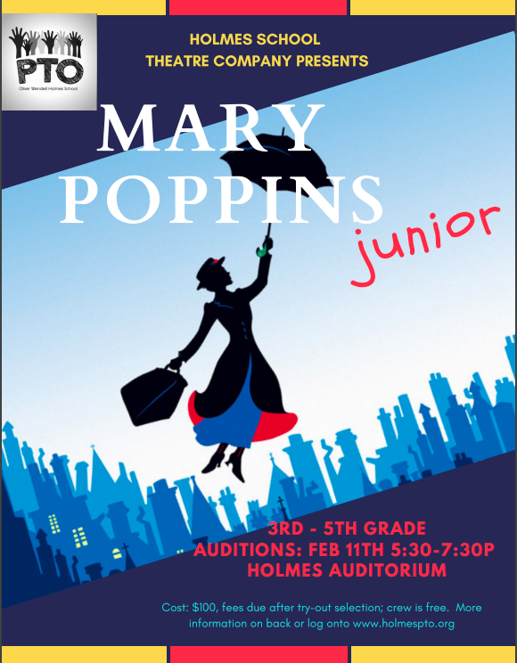 AUDITIONS2/11/19 @5:30pm - 7:30pm - Auditions will take place in the auditorium. Auditions will consist of scenes or monologues and dance. For the dance audition, there is nothing to prepare.Please take a look at the synopsis for an overview of the show. The character list is also attached so that auditioners may explore the many opportunities available for lead, supporting, and ensemble roles.Click flyer to see full details on keys2broadway site!
