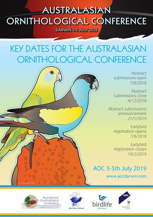 Australasian Ornithological Conference 3-5 July, Darwin — Threatened