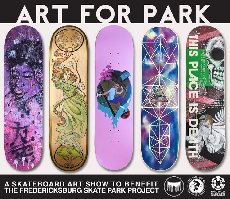 PONSHOP's Art 4 Park Show runs from March 2nd through April 29th