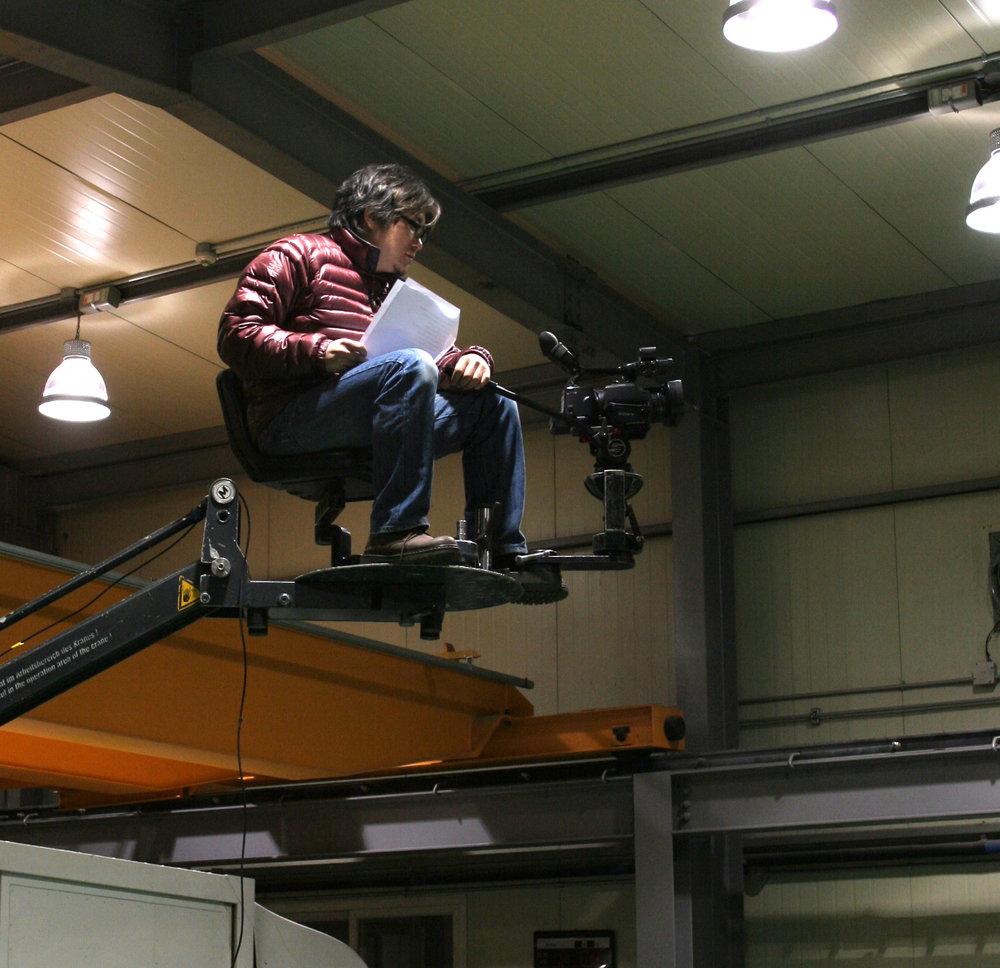'브라보! 재즈 라이프'(2011)를 촬영 중인 남무성 작가
