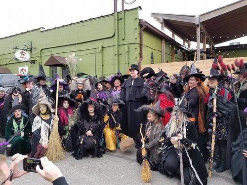 71st Irvington Halloween Festival — The Black Hat Society of ...
