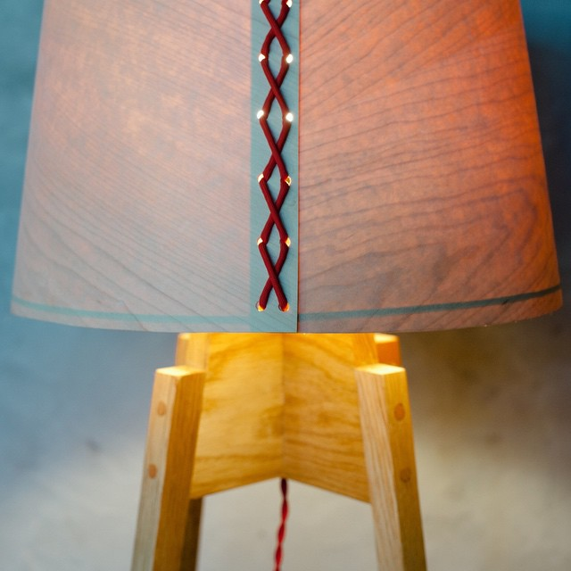 "Floor lamp, ""10 degrees"" series"