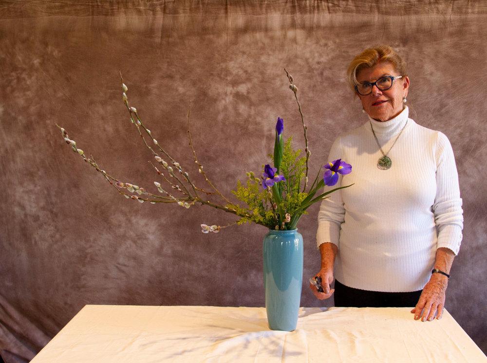 Heika slanting style by Grand Master Ingrid Luders