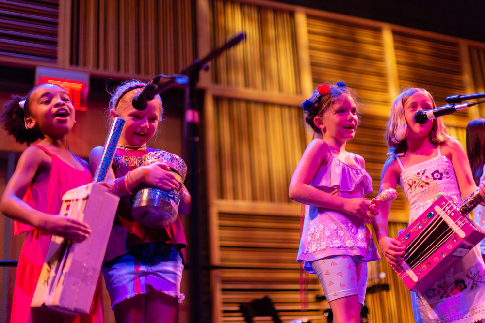 Week One - Omaha Girls Rock 2018Ages 4-9