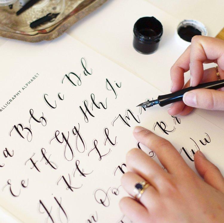 Calligraphy Workshops at Bay-Made