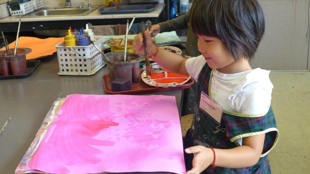 訓練灣區兒童繪畫的獨力性