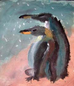 Figure 1. HaoXiang Zhan (11 years old) Penguin