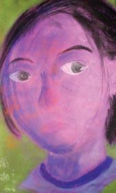 Figure 5 XiangLing Yan (12 years old)    Self-Portrait