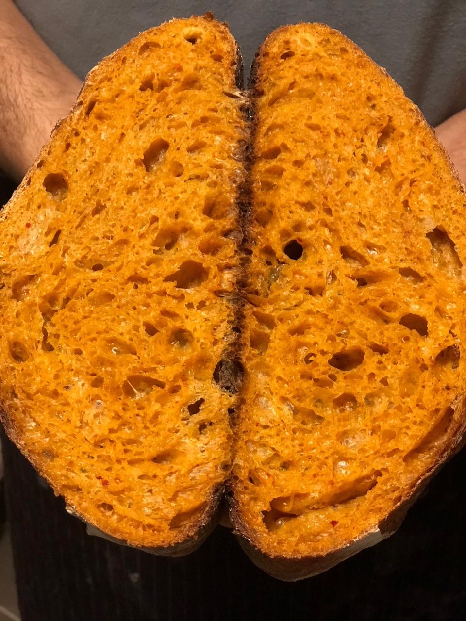 kimtchi bread
