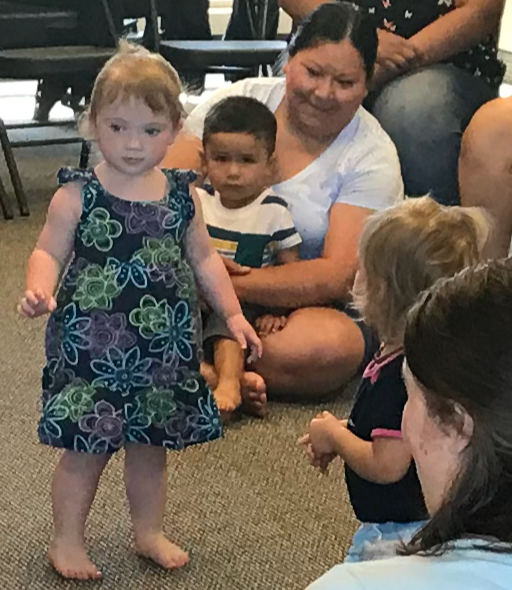 """The  Music Together Tri-Cities  demo class with Jana Hair at our May 26 Open House was a big hit with parents and children! """"Hello, Everybody!"""""""