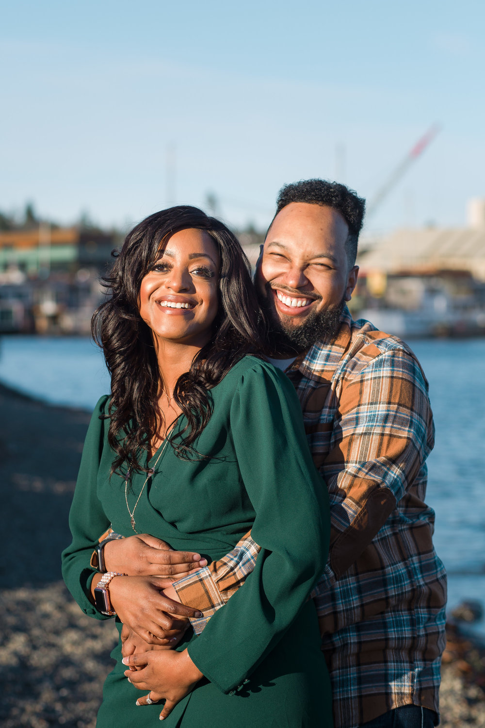 Gas Works Park Engagement Session by Zoe Litaker Photography