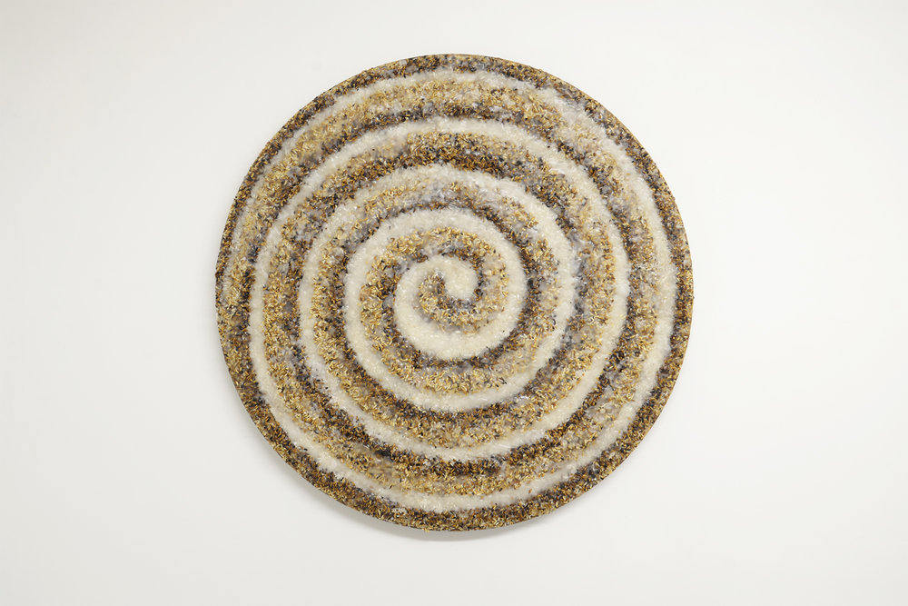 The sequence of connection  2018 rice and wax on wood